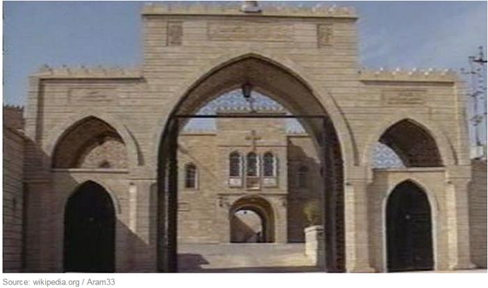 le monastère syriaque catholique de Mar Elian