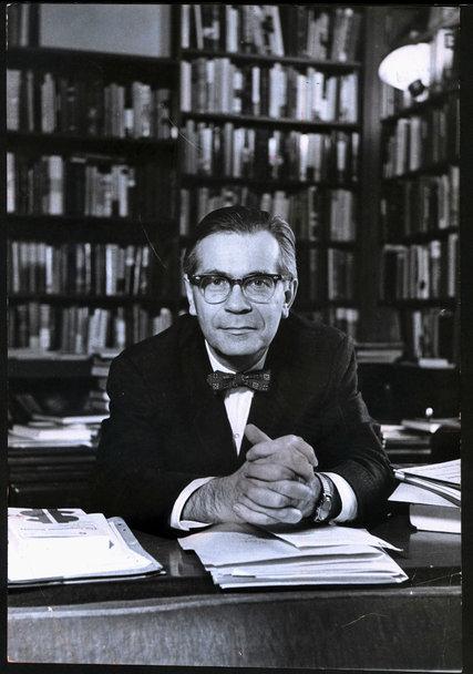Richard Hofstadter,photo New York Times