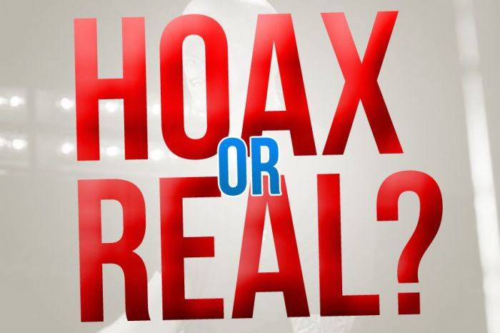 Hoax or real